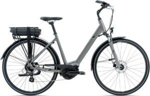 Electric bike low step
