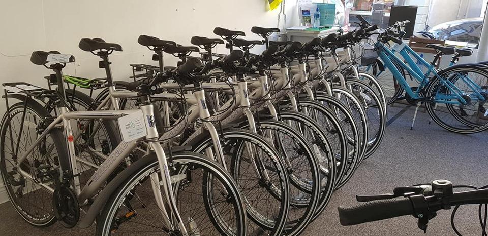 Bikes at Shop 1